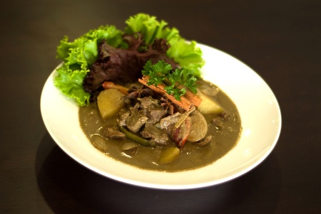Malay cuisine mutton kurma