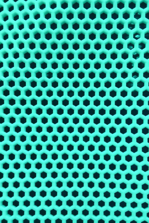 aquamarine honeycomb texture  Stock Photo