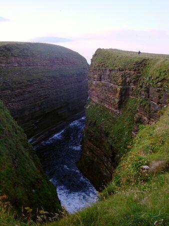 deep canyon in scotland