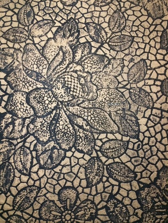 floral stone texture background