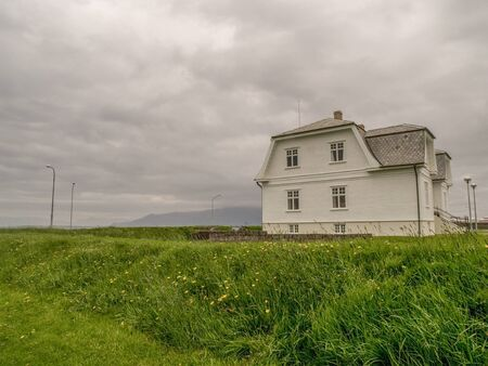 gorbachev: White house in Reykjavik, Iceland, which used to be the French Consulate, where Gorbachev and Reagan met in 1986.