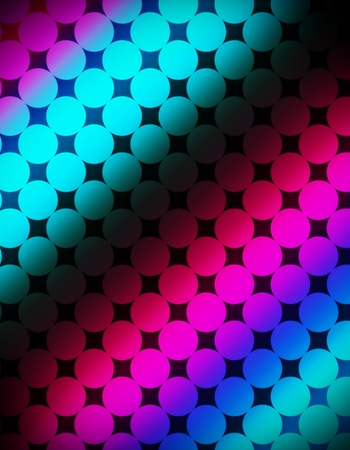 Abstract disco poster background photo