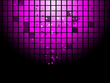 club lights: Abstract disco poster background
