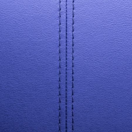 chamois leather: Violet leather with seam