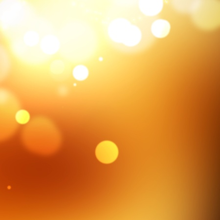 gleam: Abstract background with bokeh lights and stars