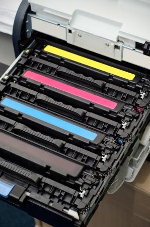 printer cartridge: Color laser printer toners cartridges