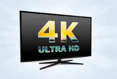 high definition: Ultra high definition digital television screen technology
