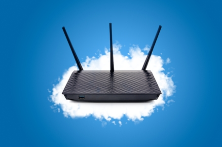modem: Router with data in your own cloud