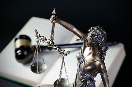 Law concept with Themis, symbol of justice. law justice attorney themis lawyer scale legal book concept