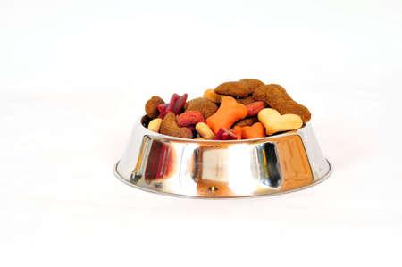 dog food dry food meal photo