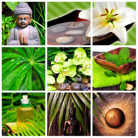 Wellness Spa collage photo