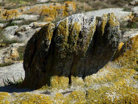 muster: von Natur gestaltete Steinskulptur Stock Photo
