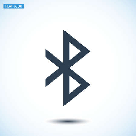 bluetooth: bluetooth icon, vector best flat icon, EPS
