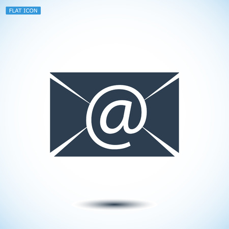 unread: Email message flat icon, vector best flat icon, EPS Illustration