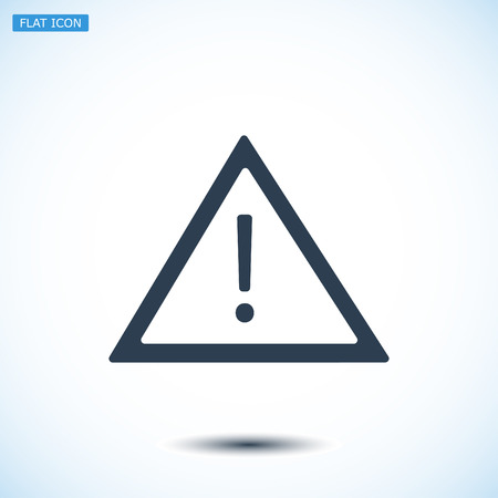 obey: warning roadsign icon, vector best flat icon, EPS Illustration