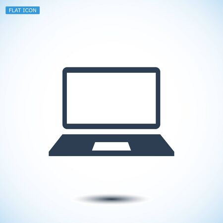 communications equipment: Computer vector icon, vector best flat icon, EPS