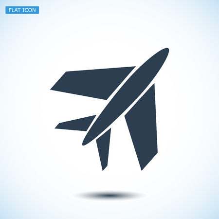 plane icon, vector best flat icon, EPS