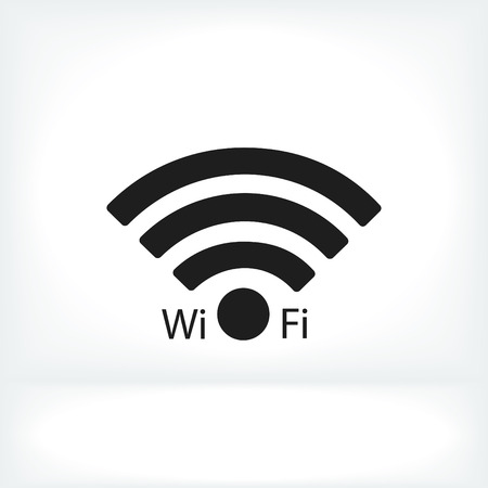 hot wife: WiFi icon, vector best flat icon,