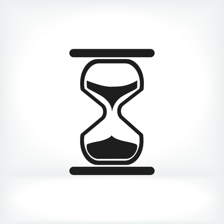 timepieces: hourglass vector icon, vector best flat icon,