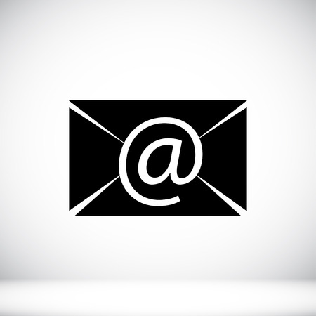 unread: Email message flat icon, vector best flat icon