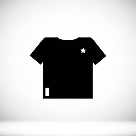 t short: t-shirt icon, vector best flat icon
