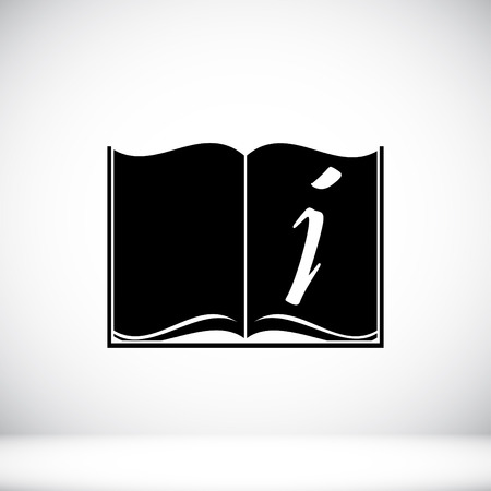 best book: open book icon, vector best flat icon Illustration