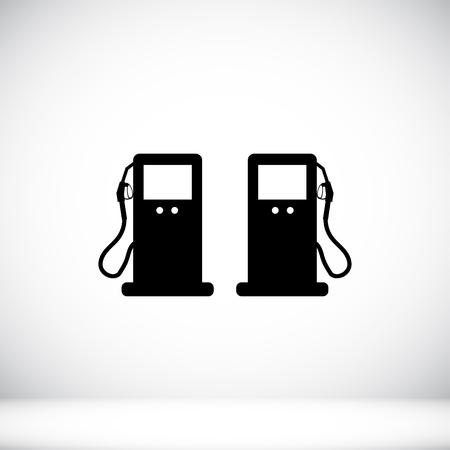 benzine: gas icon Illustration