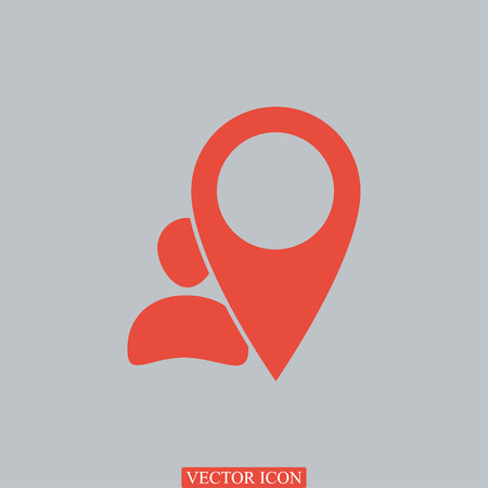 pointer vector icon, vector best flat icon