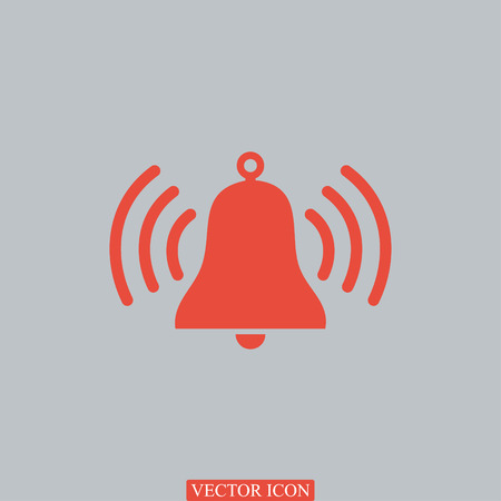ring tones: bell vector icon, vector best flat icon Illustration