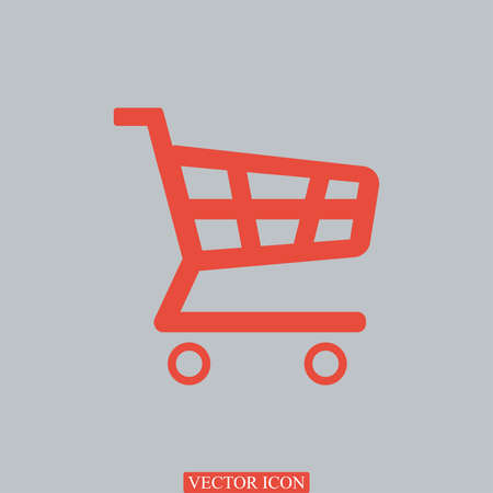 shopping chart: shopping chart icon, vector best flat icon