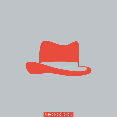 Hat icon, vector best flat icon