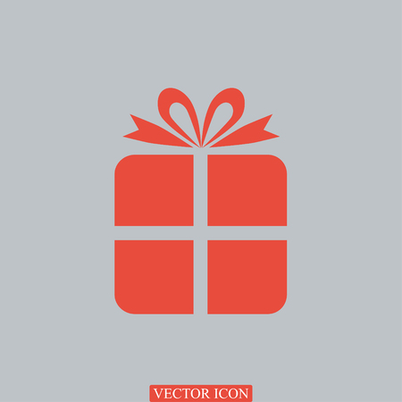 giftware: gift icon, vector best flat icon