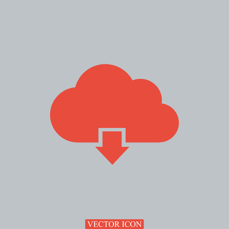 cloud vector icon vector best flat icon Illustration