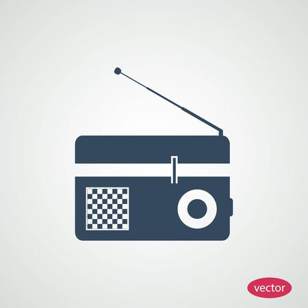 radio icon: Radio icon Illustration