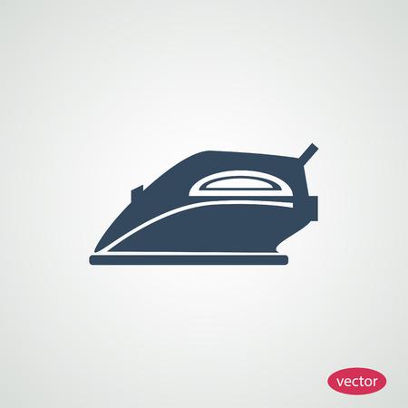 iron icon, vector best flat icon, EPS