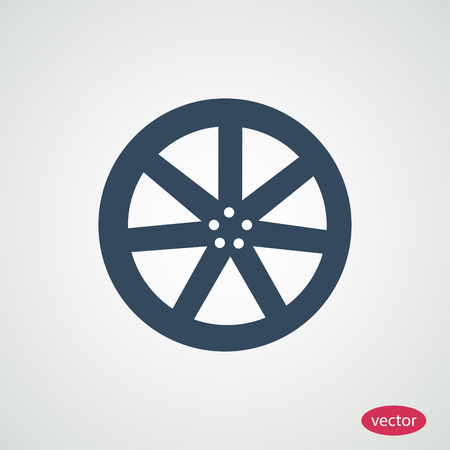 aluminum wheels: wheel disks icons