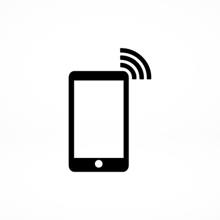 handsfree device: phone icon Illustration