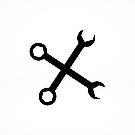 hardware configuration: repair icon Illustration