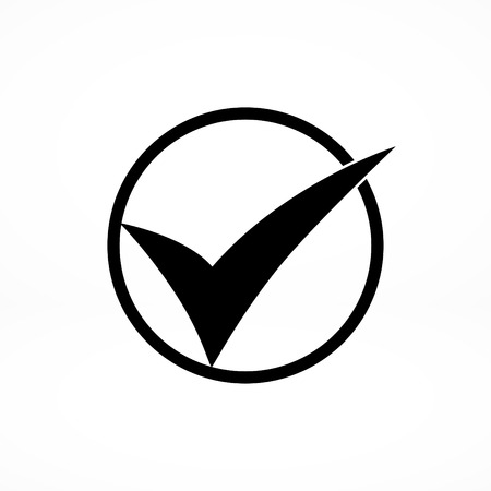 confirm confirmation: ok vector icon