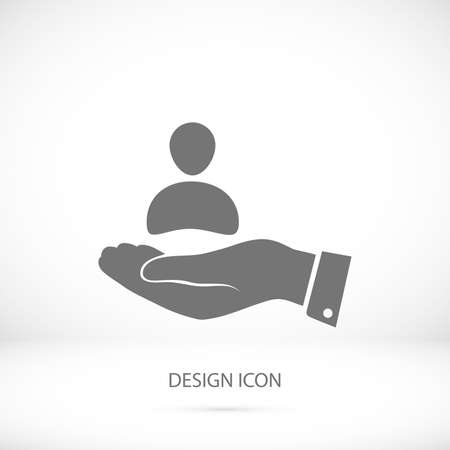 affiliation: business man icon, vector best flat icon