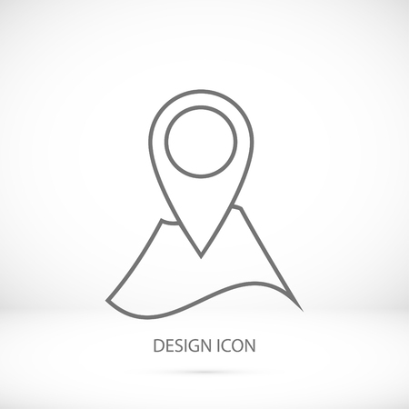 Navigator guide icon, vector best flat icon
