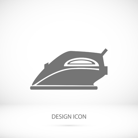 smoothing: iron icon, vector best flat icon