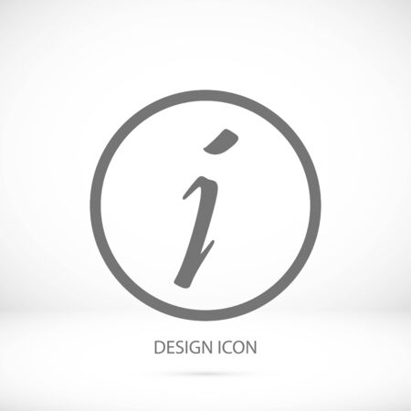 Information sign icon, vector best flat icon