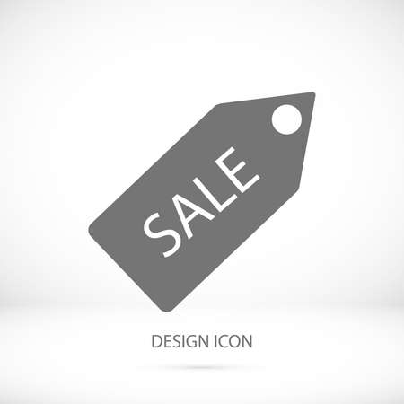 sales representative: Sale tag icon, vector best flat icon, Illustration