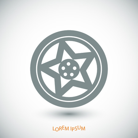 disks: wheel disks icon, vector best flat icon,