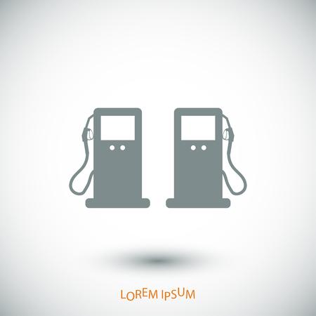 benzine: gas icon, vector best flat icon