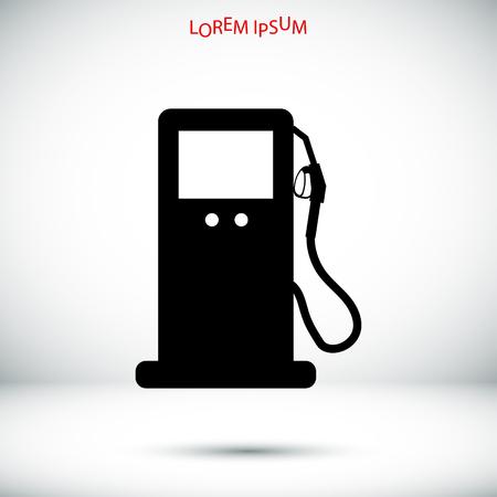 benzine: gas vector icon, vector best flat icon,