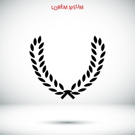 wheat vector icon, best flat icon 10 Illustration