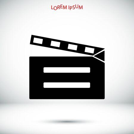 cinematographer: video icon, vector best flat icon,