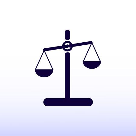 scale: scale icon Illustration